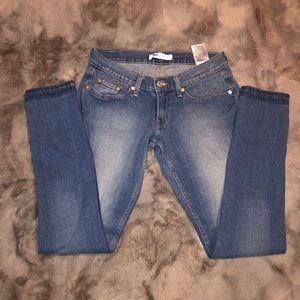 Levi 524 Skinny jeans medium wash size 3m